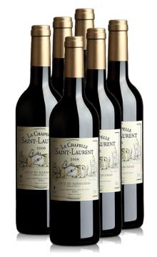 圣罗兰干红葡萄酒-6支装