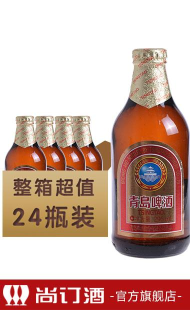 青岛金质小瓶啤酒 296ml*24