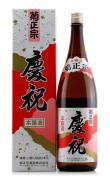 日本原装进口洋酒菊正宗本酿造 庆祝清酒1800ml