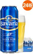 进口啤酒 荷兰啤酒 宝华利特醇啤酒 500ml*24听