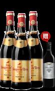 桃乐丝格兰公牛血金标干红葡萄酒-3支装(原特选公牛血金标)