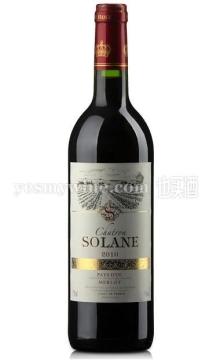 索兰梅洛干红葡萄酒(又名:索兰美乐干红葡萄酒)
