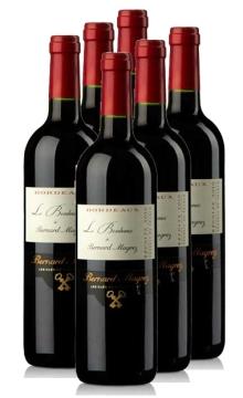 贝马格雷波尔多干红葡萄酒【整箱6瓶装】