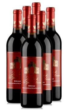雄狮门庄园干红葡萄酒-6支装