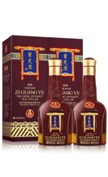 五粮液股份公司紫光液精酿52度500ml*2 双瓶装