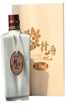 16°蓝桥风月·桂花陈酿(红粬酿 黄酒)500ML