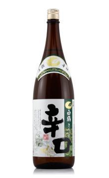 日本原装进口洋酒 白鹤上撰辛口清酒1800ml 口感芳醇