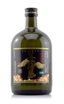 日本原装进口 黑雾岛本格芋烧酎烧酒720ml