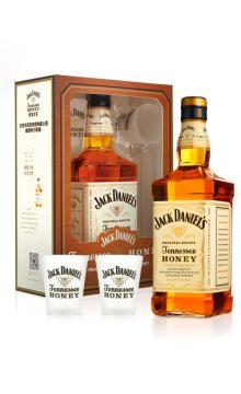美国洋酒杰克丹尼威士忌蜂蜜味配制力娇酒礼盒装700ml