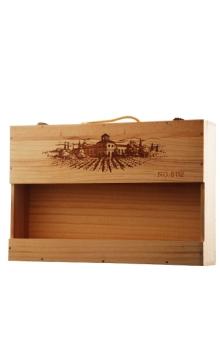 六只装金奖木箱