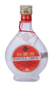 陈年老酒 西凤酒小酒版(扁瓶凤凰牌)2002年出厂 55度 200ml