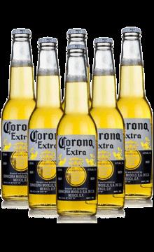 Corona/科罗纳 原装进口科罗纳啤酒330ml*6(六支装)