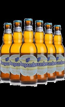Hoegaarden/福佳 比利时原装进口 福佳白啤酒 330ml*6