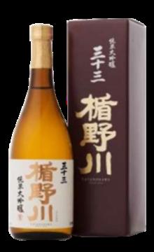 楯野川 33 纯米大吟酿清酒720ml
