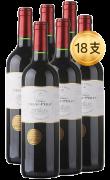 蒙佩奇弗朗系列珍藏波尔多干红葡萄酒*18支装