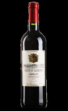 阿尔贝绅士美乐干红葡萄酒2013