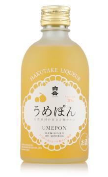 日本白岳桔味梅酒配制酒300ML