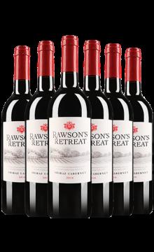 洛神山庄西拉赤霞珠红葡萄酒(又名:洛神山庄设拉子赤霞珠红葡萄酒)-6支装(奔富酒厂出品)