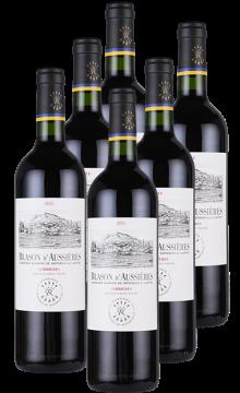 奥希耶徽纹干红葡萄酒(拉菲罗斯柴尔德集团荣誉出品)-6支装