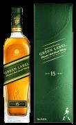 尊尼获加绿牌威士忌(绿方)15年