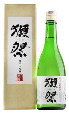 日本原装进口洋酒 獭祭纯米大吟酿50清酒720ml
