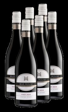 泥房子中奧塔哥黑比諾紅葡萄酒(原泥房子天鵝系列)-6支