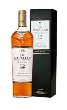 麥卡倫12年蘇格蘭單一麥芽威士忌