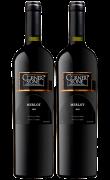 康纳斯顿梅洛干红葡萄酒(黑标)-2支装