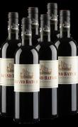 小龙船红葡萄酒 6支整箱装  750ml*6
