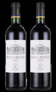 奥希耶徽纹红葡萄酒(拉菲罗斯柴尔德集团荣誉出品)2支装